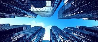 sky pic of buildings
